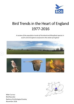 Bird Trends in the Heart of England 1977-2016